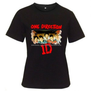 1D One Direction Music tour 2012 Black t shirt S M L XL Size