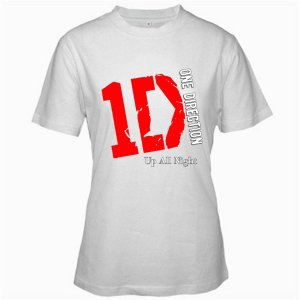 1D One Direction Music tour 2012 white t shirt S M L XL Size