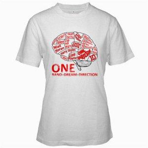1D One Direction Music tour 2012 white t shirt S M L XL Size