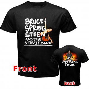BRUCE SPRINGSTEEN AND THE E STREET BAND WRECKING BALL TOUR CD 1style Tee T shirt S M L XL 2XL Size