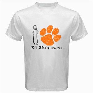 06 I Love I Paw Ed Sheeran T-Shirt CD Album MUSIC BAND CONCERT TOUR Tee T shirt S M L XL 2XL Size