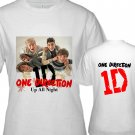 "1D One Direction ""Up All Night"" Music (CD Album Ticket Concert Tour) T shirt S M L XL Size a3code"
