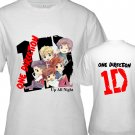 "1D One Direction ""Up All Night"" Music (CD Album Ticket Concert Tour) T shirt S M L XL Size a4code"