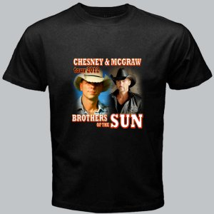New Brothers of the Sun Tour 2012 Chesney & Mc Graw DVD Ticket T shirt S M L XL Size pic11