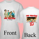 "1D One Direction ""Up All Night"" Music CD DVD Album Ticket Concert Tour T shirt S M L XL Size pic6"