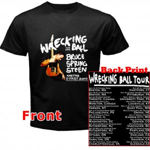 Bruce Springsteen and the E Street Band Wrecking Ball pict5 DVD Tickets Tour date 2012 Tee T- Shirt