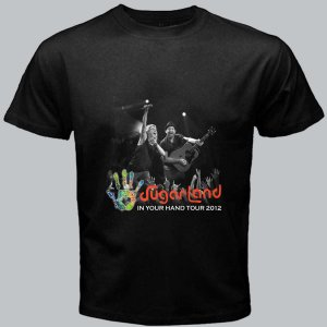 01 new Sugarland In Your Hand DVD Tickets Tour date 2012 Music Tee T - Shirt S M L XL Size