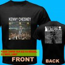 A05 Kenny Chesney No Shoes Nation Tour Date 2013 Tee T - Shirt SIZE S M L XL 2XL