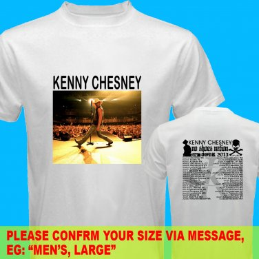 A12a Kenny Chesney No Shoes Nation Tour Date 2013 Tee T - Shirt SIZE S M L XL 2XL