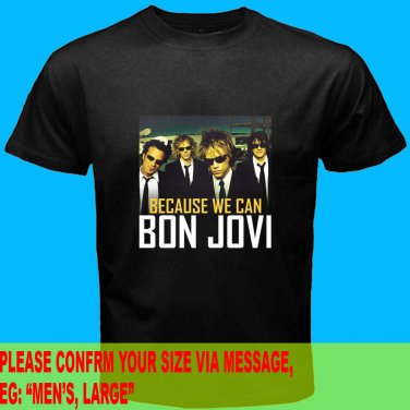 A07 Bon Jovi Because We Can Tour 2013 Tee T - Shirt SIZE S M L XL 2XL