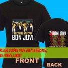 A03 Bon Jovi Because We Can Tour Date 2013 Tee T - Shirt SIZE S M L XL 2XL