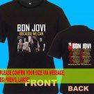 A05 Bon Jovi Because We Can Tour Date 2013 Tee T - Shirt SIZE S M L XL 2XL