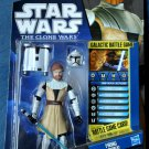 OBI-WAN KENOBI Star Wars The Clone Wars Action Figure #CW02 2010