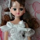 Takara Licca Doll In White Wedding Dress LD05