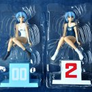 Set of Two Neon Genesis Evangelion Extra School Swimming Suit Figure Ver.2 Sega