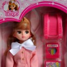 Rare Cute Takara Licca 9 Inches Doll in School Uniform