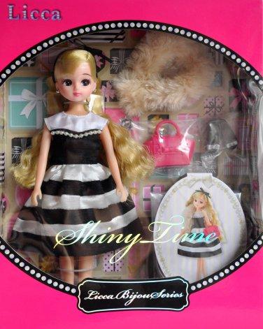 New Hot Takara Tomy Licca Bijou Series Shiny Time Licca-Chan 9 Inches Doll