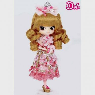 Cute Little Pullip Princess Pinky in Pink Dress 4.5 Inches Jun Planning