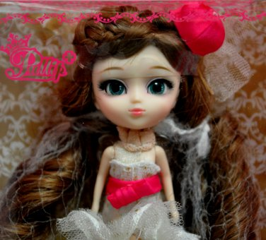 Little Pullip Jun Planning Lovely Nanette 4.5 Inches Mini Doll by Groove Inc 15+