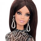 The Barbie Look City Shine 12 Inches Doll In Black and Gold Lace Barbie Collector Black Label