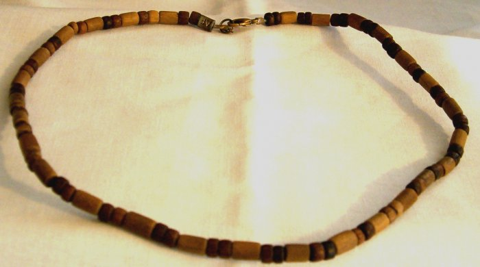 Men's/women's Wooden Bead Necklace