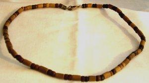 Men's/women's Wooden Bead Necklace