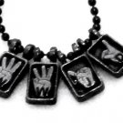 What Would Jesus Do ASL Necklaces