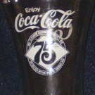 Coca ~ Cola 75th Anniversary Drinking Glass
