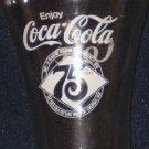 Coca ~ Cola 75th Anniversary Drinking Glass