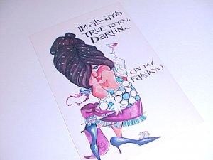 Vintage Humor Post Card postcard #PCJ  tnk-ent