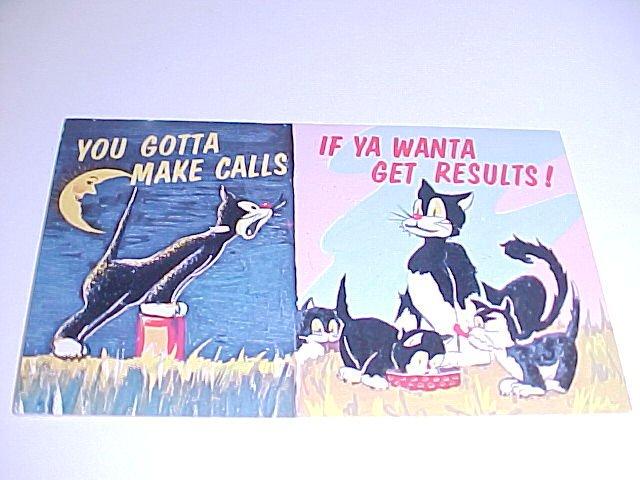 Vintage Humor Post Card postcard #PCH  tnk-ent