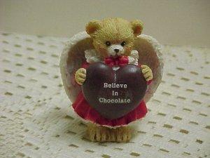 A Beary Chocolate Angel ENESCO  B629* tnk-ent