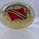 Brand New Trinidad and Tobago FLAG MEN BELT BUCKLE