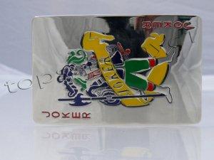 NEW JOKER POKER CARDS MEN BELT BUCKLE