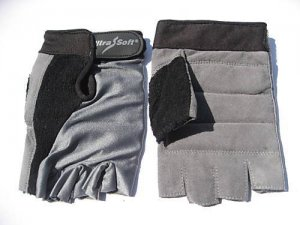 GEL Padding Weight lifting Cycling workout Gym Gloves Size XL
