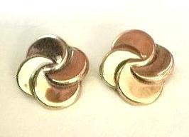 RENOIR COPPER PinWheel EARRINGS