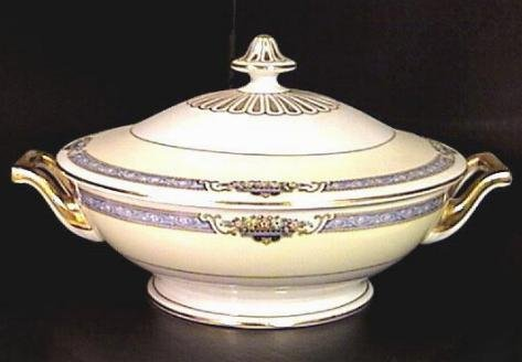 Aragon ROUND COVERED VEGETABLE Dish BAVARIA