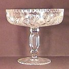 Beautiful CUT GLASS COMPOTE