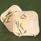 Weil Ware Blossom Bread & Butter Plate(s) Vintage