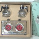 HOTPLATE COFFEE TWINS S & P Shakers with BOX