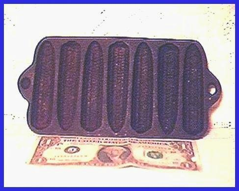 SMALL Cast Iron CORNSTICK PAN Ca.1920