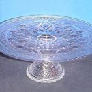 "Imperial ""Cape Cod"" Cake Stand in Crystal"