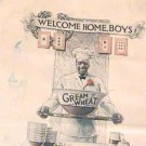 BLACK CHEF Cream Of Wheat AD 1919 WWI