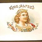 Vintage KING ALFRED Cigar LABEL (s)