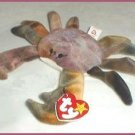 TY Claude The Crab Beanie Baby Retired - Ship 1st CL