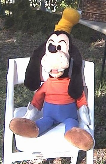 DISNEY PLUSH GOOFY 36 Inches! WDP Pre-1976