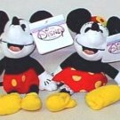 '30's Mickey & Minnie Bean Bags JAPAN 1998