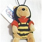 BUMBLE BEE Valentine POOH Bean Bag MWMT 1998
