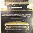 COLOR Full Page COMET CALIENTE Magazine AD 1963