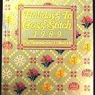 Book, Holidays in Cross Stitch by Vanessa-Ann ©1988